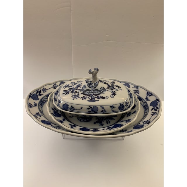 Late 19th Century Antique Cauldon Vegetable Serving Dish Set - 3 Pieces For Sale - Image 13 of 13