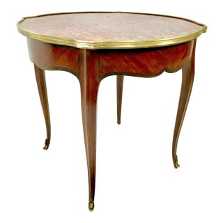 19th-Century French Empire Side Table For Sale