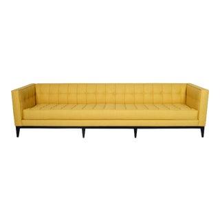 """Tufted """"Vista"""" Sofa by Cruz Design Studio For Sale"""