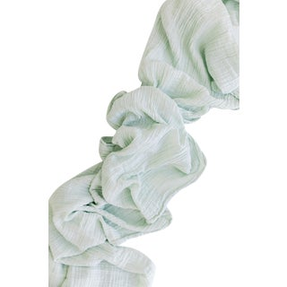 Sage Organic Cotton Runner For Sale
