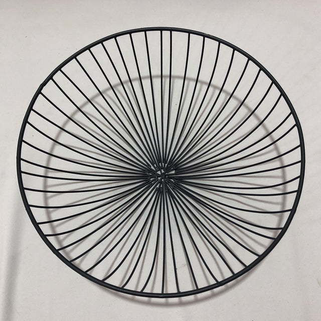 Hand Crafted Industrial Style Wire Bowl For Sale - Image 5 of 5
