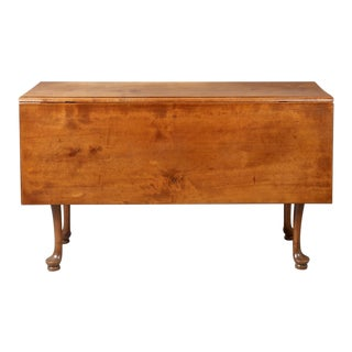Queen Anne Drop-Leaf Dining Table