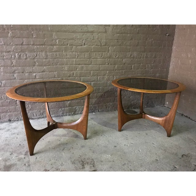 1950s Mid Century Modern Lane Side Tables - a Pair For Sale In Chicago - Image 6 of 8