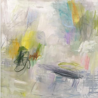 """""""Fire Flies"""" by Trixie Pitts Large Abstract Expressionist Oil Painting For Sale"""