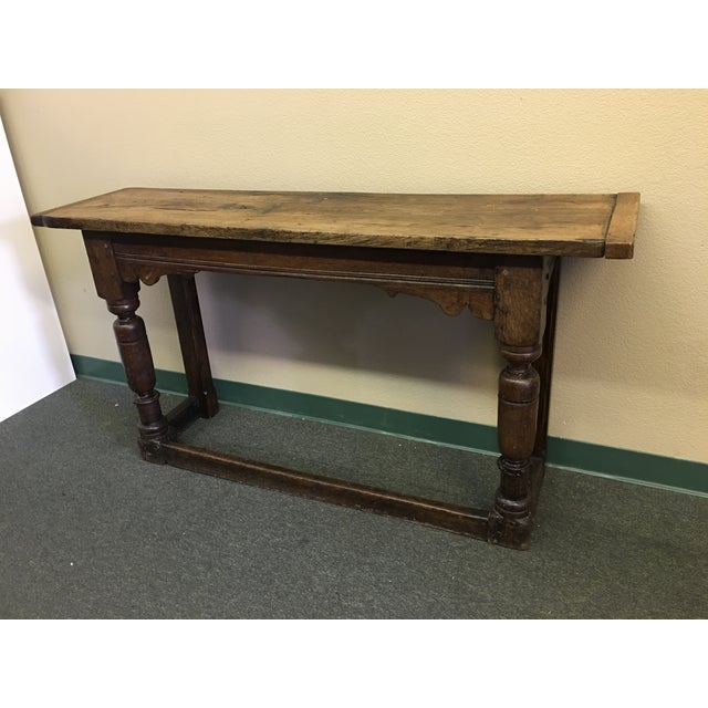 Vintage Console or Sofa Table - Image 3 of 11