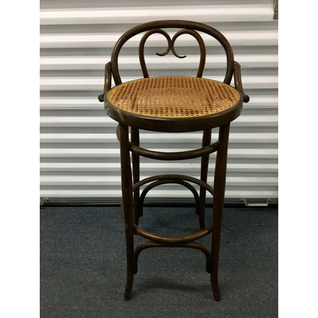 Vintage Salvatore Leone Bentwood Bistro Chair For Sale - Image 10 of 10