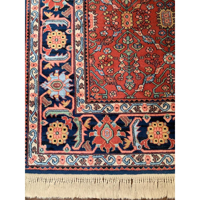 Islamic Vintage Serapi #729 Karastan Wool Rug - 8′8″ × 12′ For Sale - Image 3 of 11