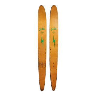 Mid-Century Jet Ski Water Skis- a Pair For Sale