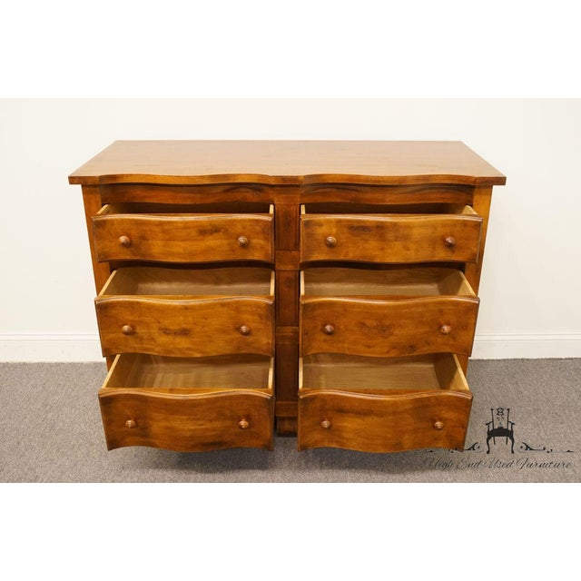 """Hickory Chair Country French Fruitwood 48"""" Double Dresser For Sale In Kansas City - Image 6 of 13"""