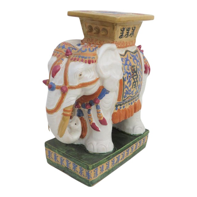 Chinese Elephant Garden Stool - Image 1 of 6
