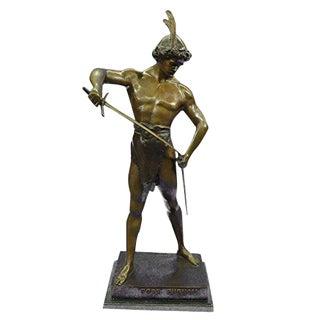 Post Pugnam Picault Bronze Statue