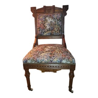 Antique Eastlake Victorian Chair For Sale