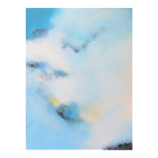 Abstract Modern Framed Painting by C. Damien Fox For Sale