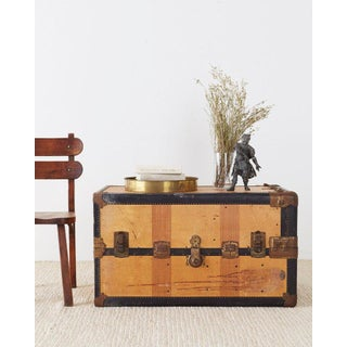 Royal Robe Canvas Standing Wardrobe Steamer Trunk Preview