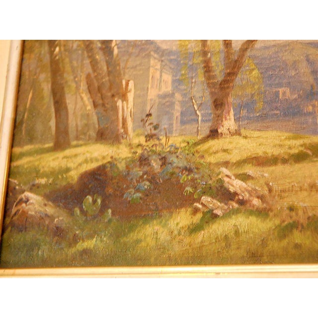 19th Century Oil Painting For Sale In Los Angeles - Image 6 of 8