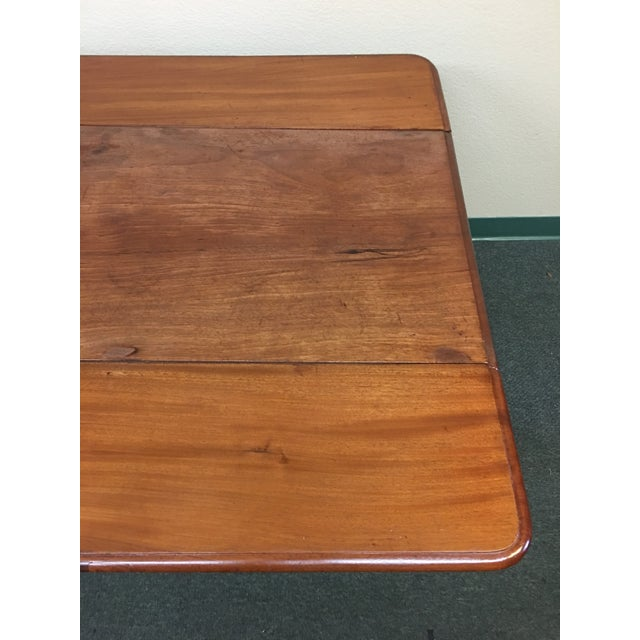 Vintage Drop Leaf Table For Sale - Image 5 of 8