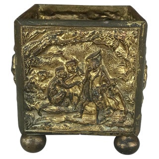 19th Century French Bronze Cachepot For Sale
