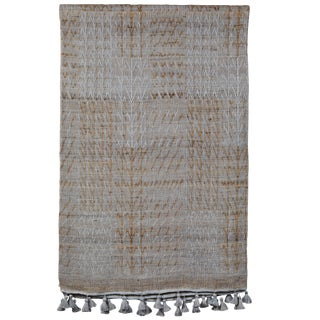 Indian Handwoven Bedcover For Sale