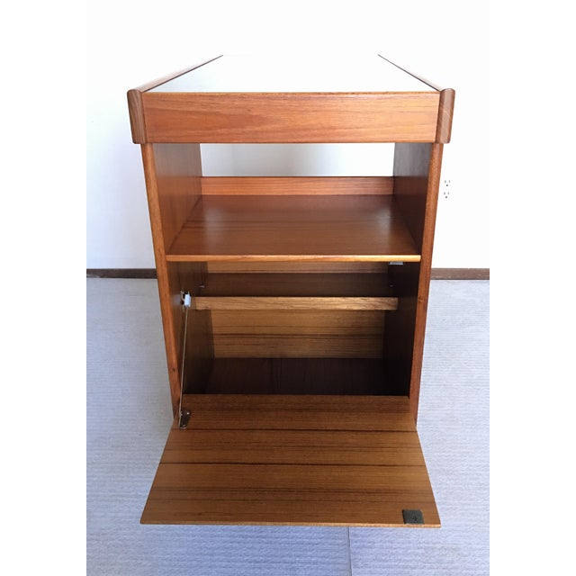 Pedersen & Hansen Danish Modern Bar Cart For Sale In Chicago - Image 6 of 11