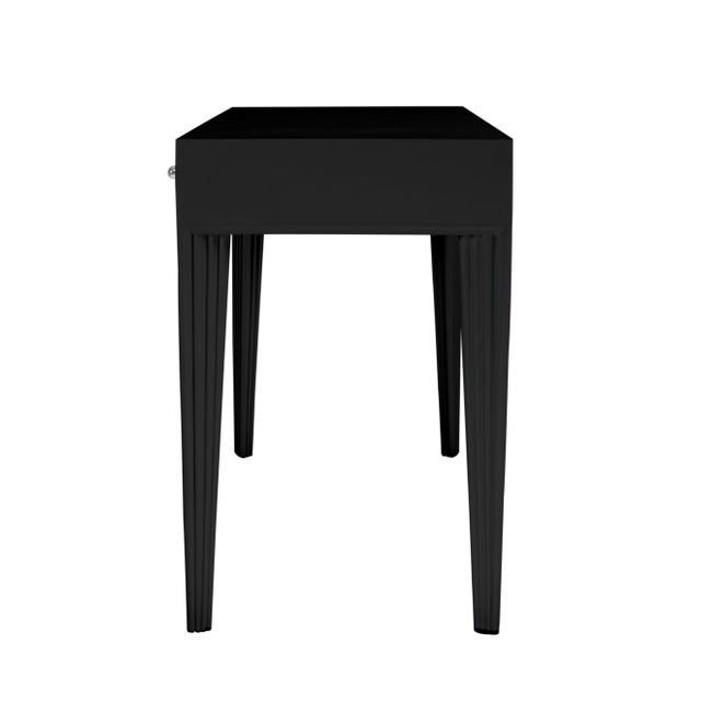 Not Yet Made - Made To Order Barcelona Desk - Black For Sale - Image 5 of 6