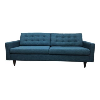 Contemporary Funky Furniture Teal Neptune Sofa