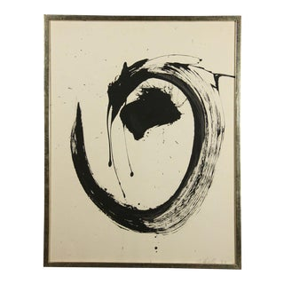 Abstract expressionist work by David Herschler For Sale