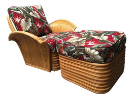 Image of Boho Chic Chair and Ottoman Sets