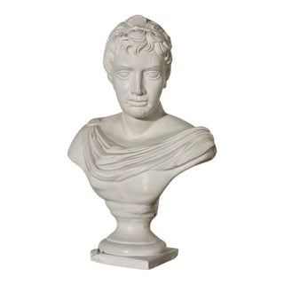 Plaster Bust of Apollo For Sale