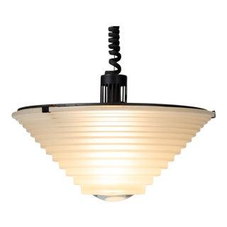 "High Tech ""Egina"" Pendant Lamp by Angelo Mangiarotti For Sale"