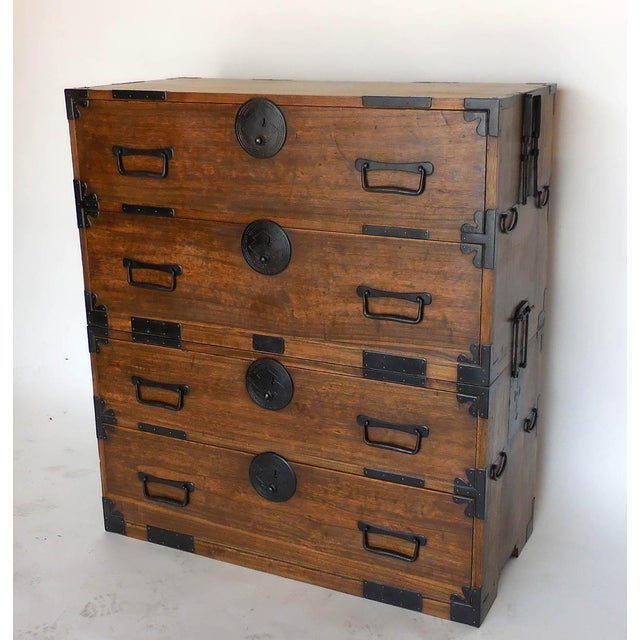 19th Century Japanese Shop Tansu, Chest of Drawers For Sale - Image 13 of 13