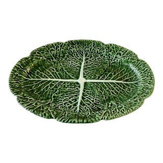 Bordallo Pinheiro Cabbage Platter For Sale