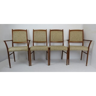 1960s Sculptural Mid-Century Modern Danish Teak Dining Chairs - Set of 4 Preview