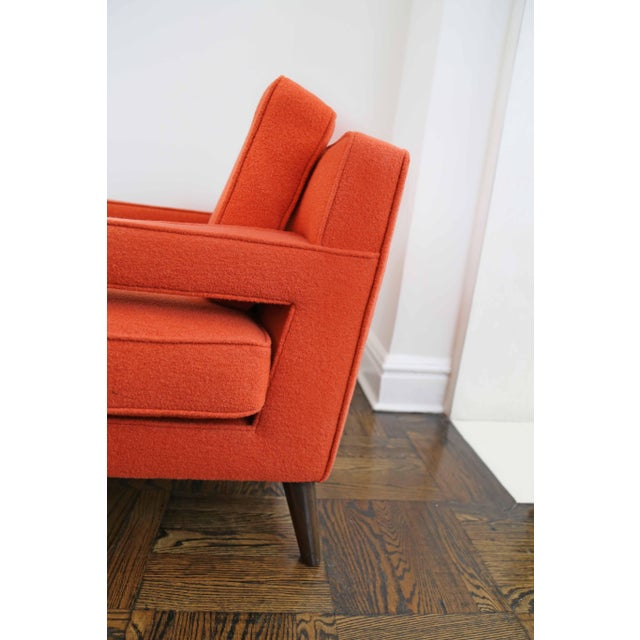 Mid-Century Modern Edward Wormley for Dunbar Club Chairs - a Pair For Sale In New York - Image 6 of 8