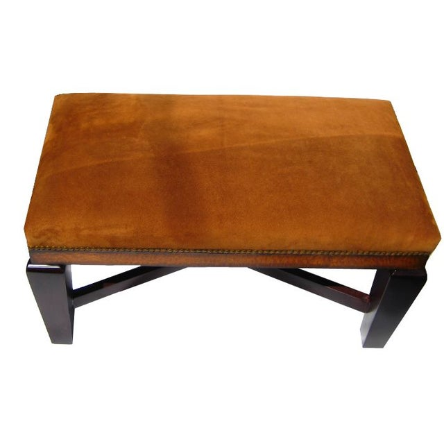 Bench in Polo Ralph Lauren Nubuck Suede Leather - Image 2 of 5