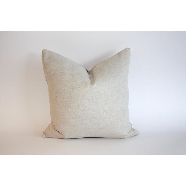Vintage Grain Sack Pillow - Image 4 of 4