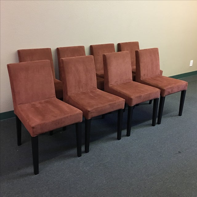 Contemporary Ligne Roset French Line Dining Chairs - Set of 8 For Sale - Image 3 of 9