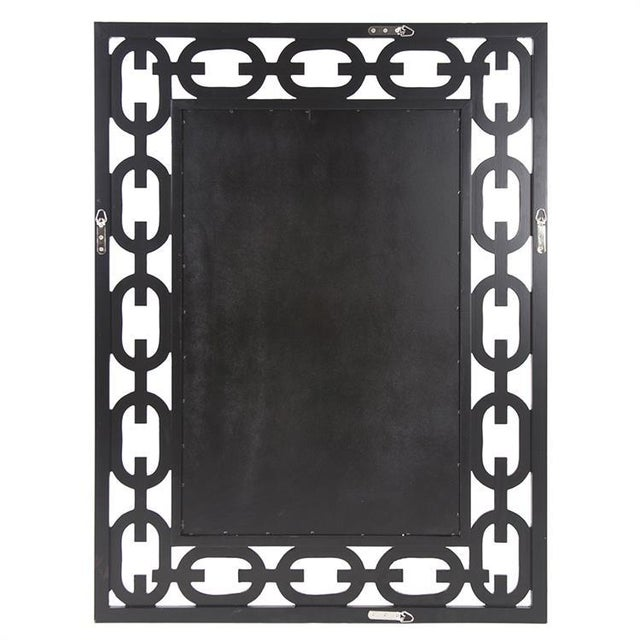2020s Kenneth Ludwig Chicago Chain Link Mirror For Sale - Image 5 of 8