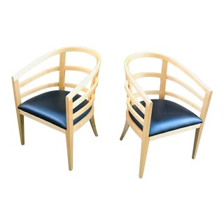 Hickory Chairs - a Pair For Sale