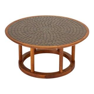 Gordon & Jane Martz Round Tile Table for Marshall Studios
