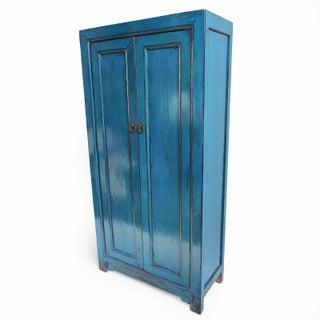 Cobalt Blue Lacquer Armoire Preview