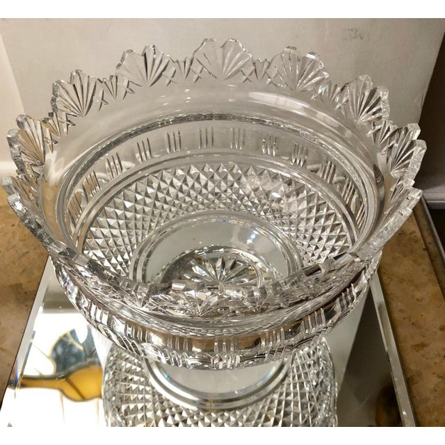 Waterford Crystal Huge Waterford Crystal Kings Centerpiece Bowl For Sale - Image 4 of 5
