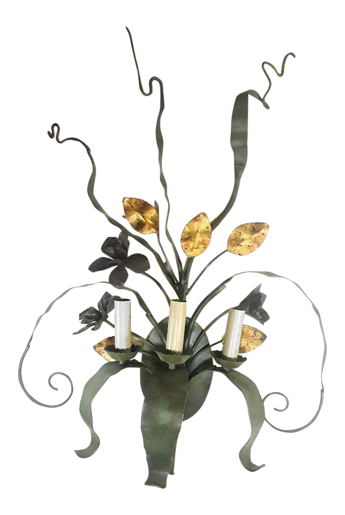 Currey U0026 Company Westley Wrought Iron Wall Sconce   Image 1 ...