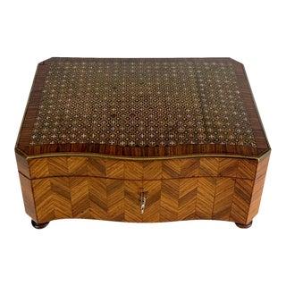 Louis XVI Style Kingwood Dresser/Perfume Box For Sale