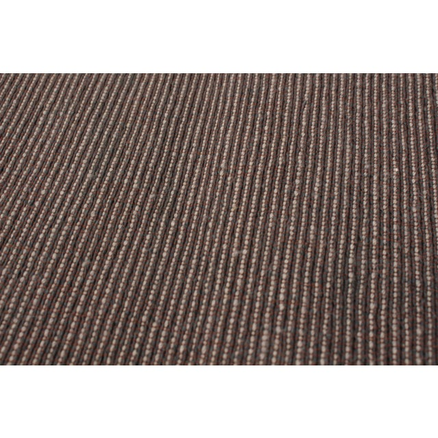 """Textile Handmade Jute Black and Brown Rug-8'10"""" X 11'6"""" For Sale - Image 7 of 9"""