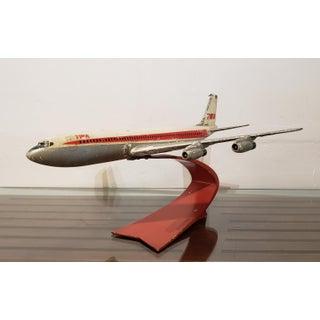 Vintage Twa Metal Plane on Stand Preview