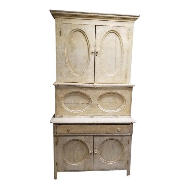 Antique White Hutch Desk - Image 1 of 9
