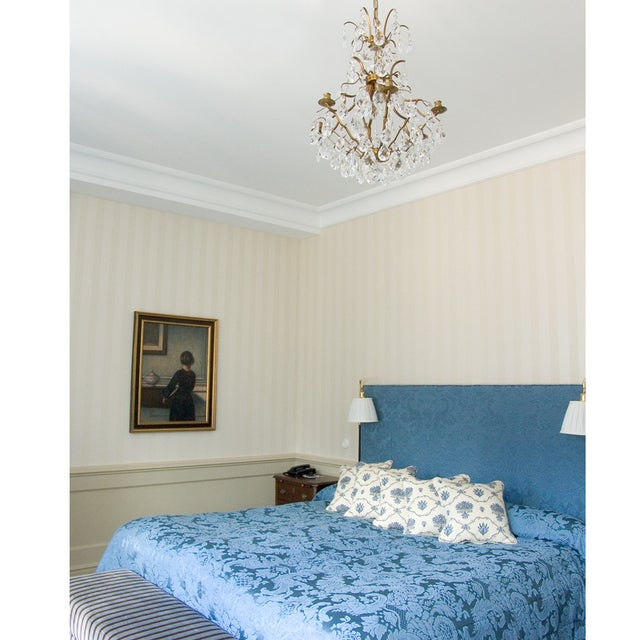 Baroque Six-Light Chandelier For Sale - Image 9 of 11