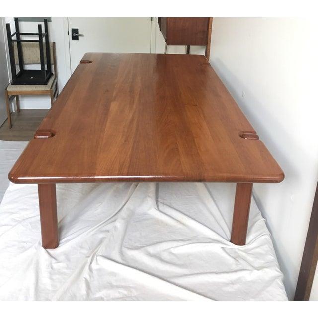 Tarm Stole Mid-Century Solid Teak Danish Coffee Table For Sale - Image 10 of 11