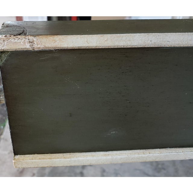 Bunny William's King Size Empire Bed Green/Grey For Sale - Image 9 of 10
