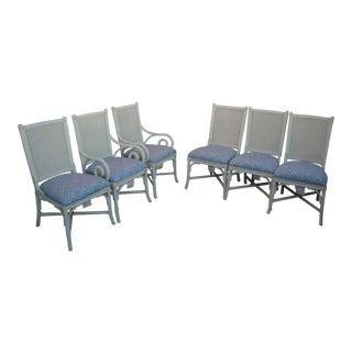 Modern Lexington/Henry Link Compass Point Dining Room Chairs- Set of 6 For Sale